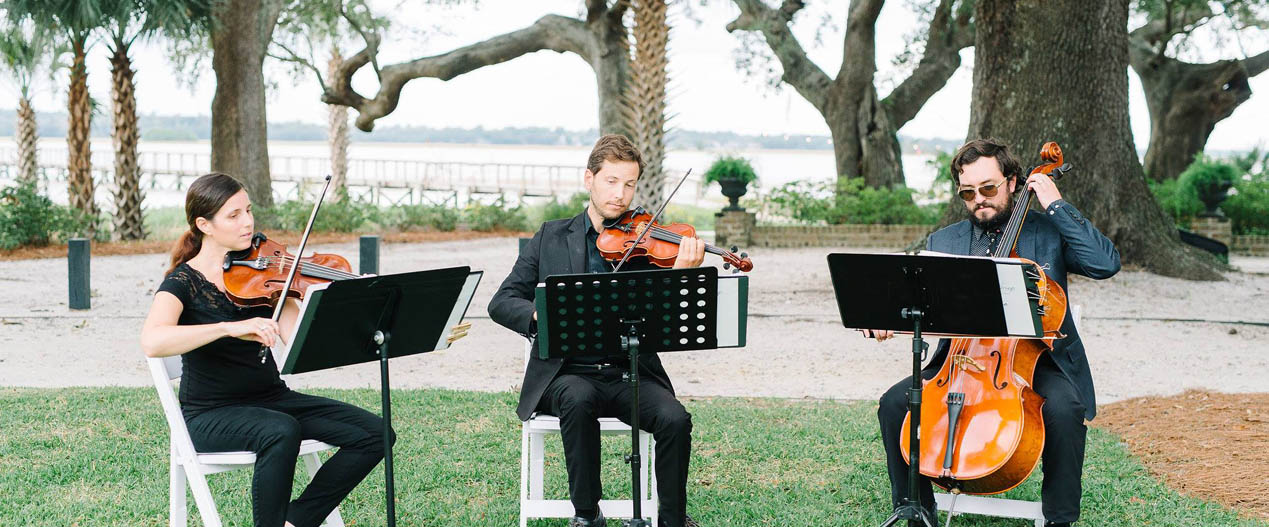 Charleston Wedding Musicians Palmetto Strings
